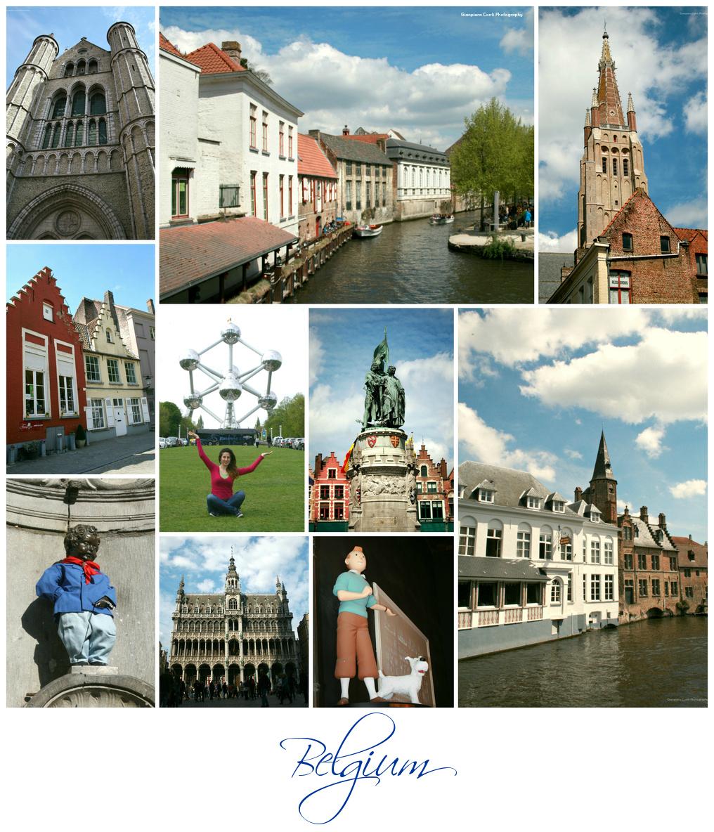 Belgium Collage