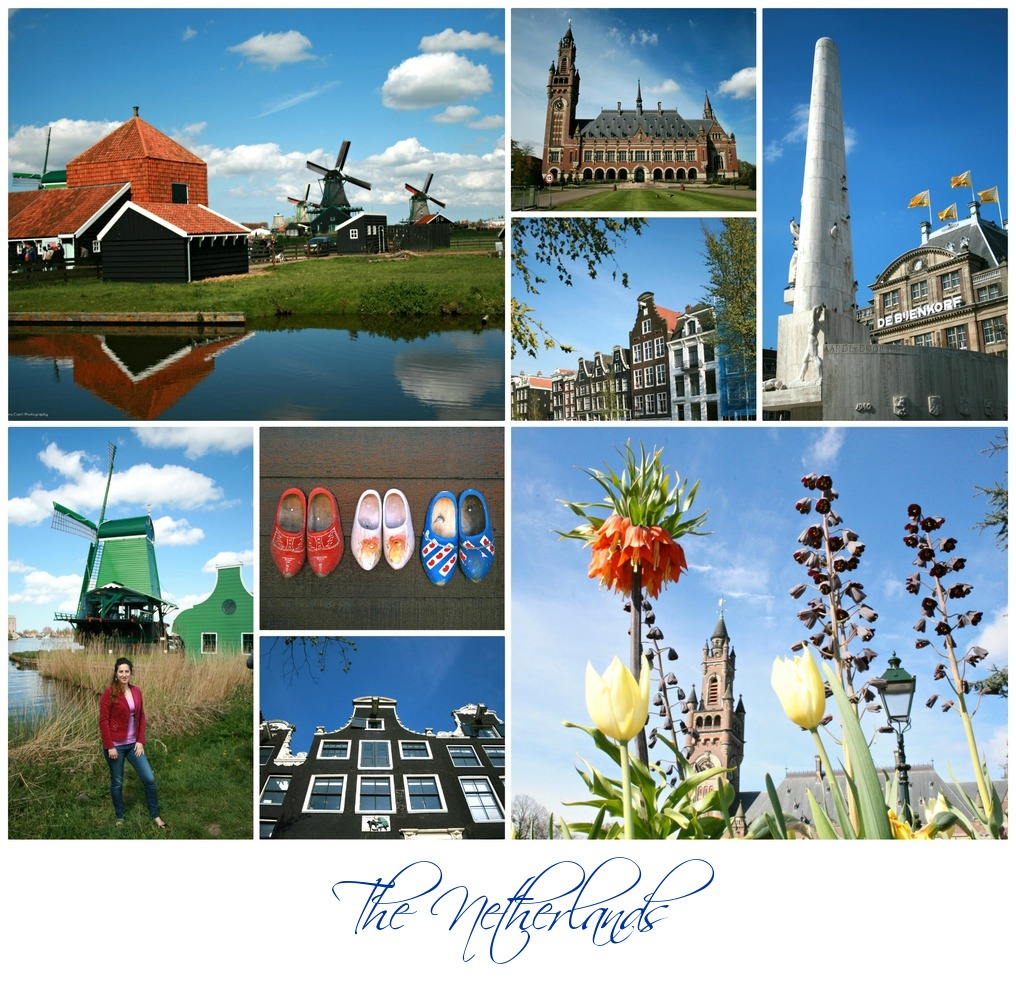 The Netherlands collage