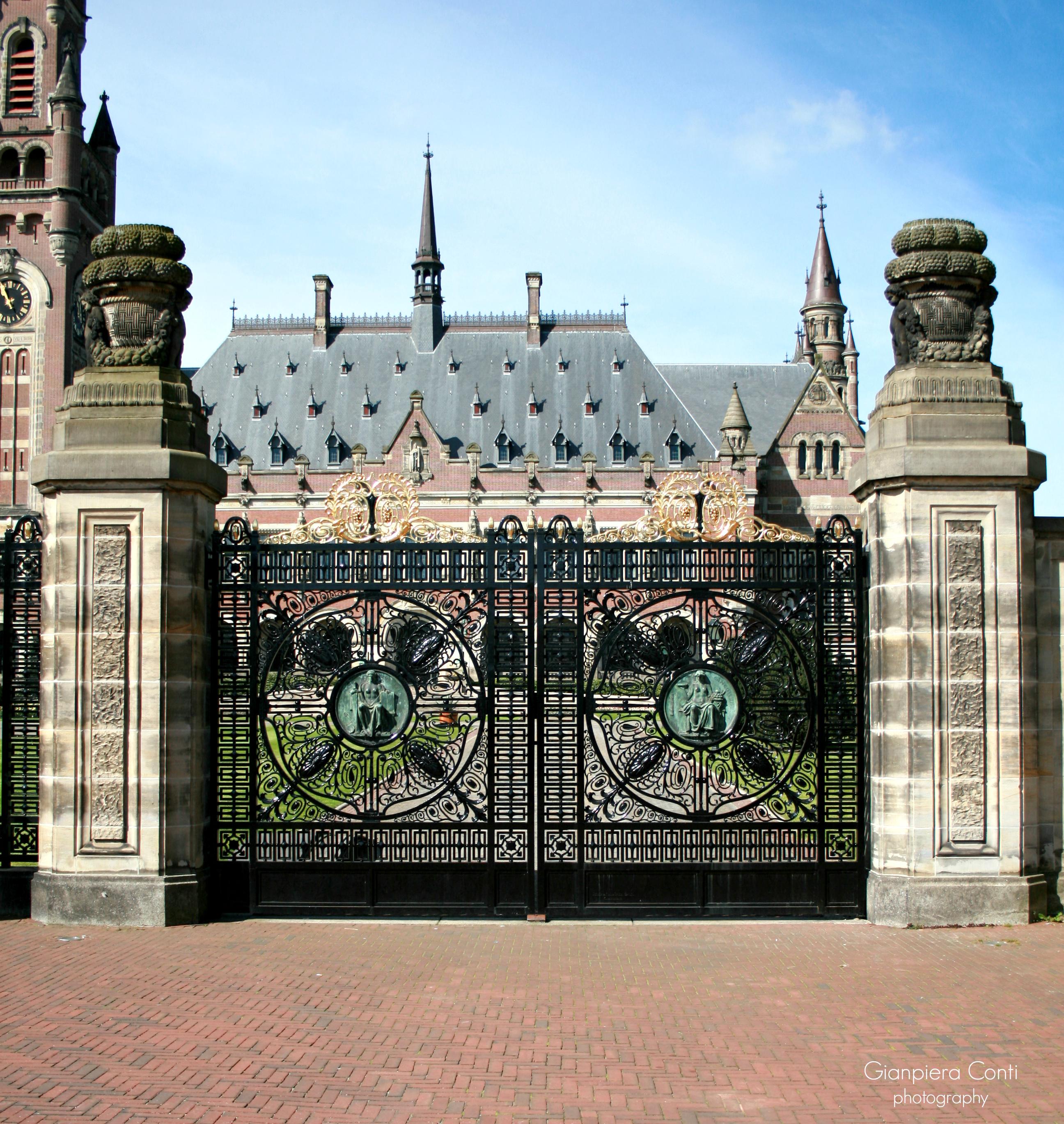 The Peace Palace Gate