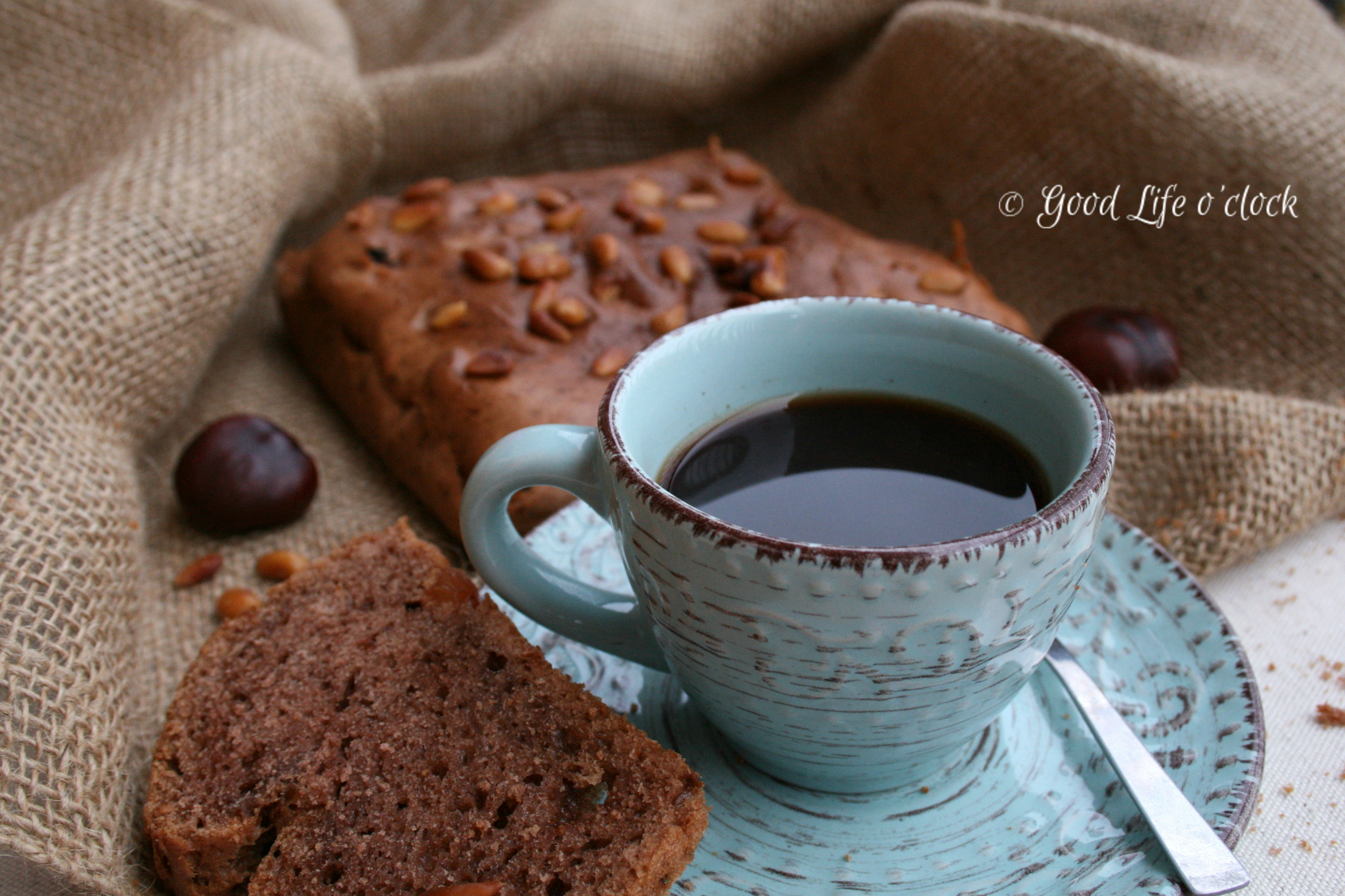 Coffee & Chestnut cake 2