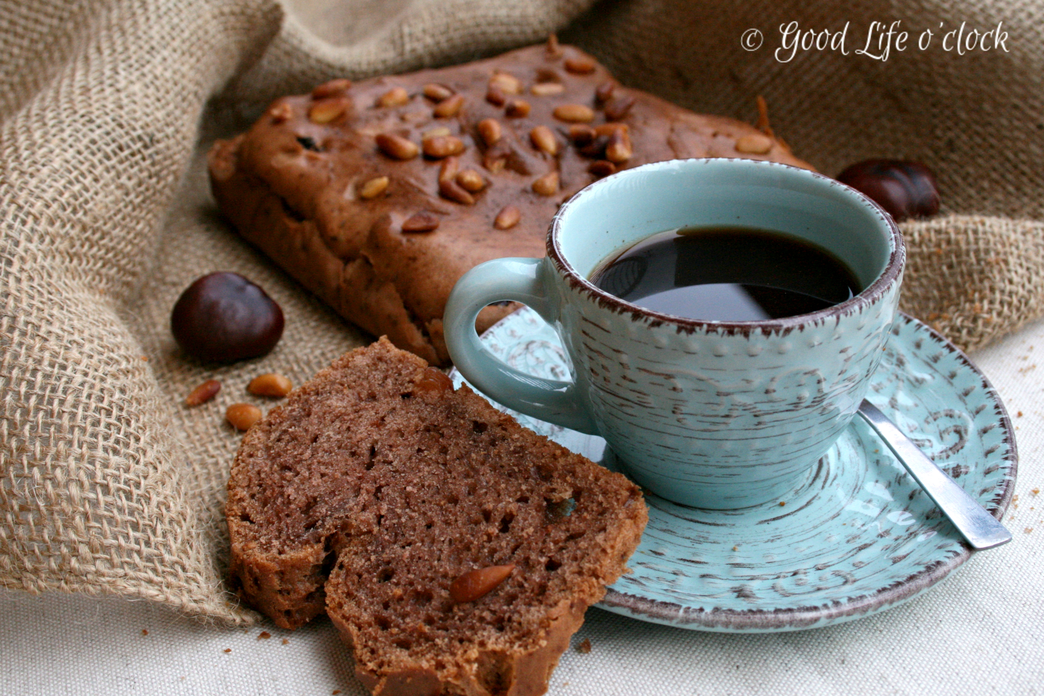 Coffee & Chestnut cake 4