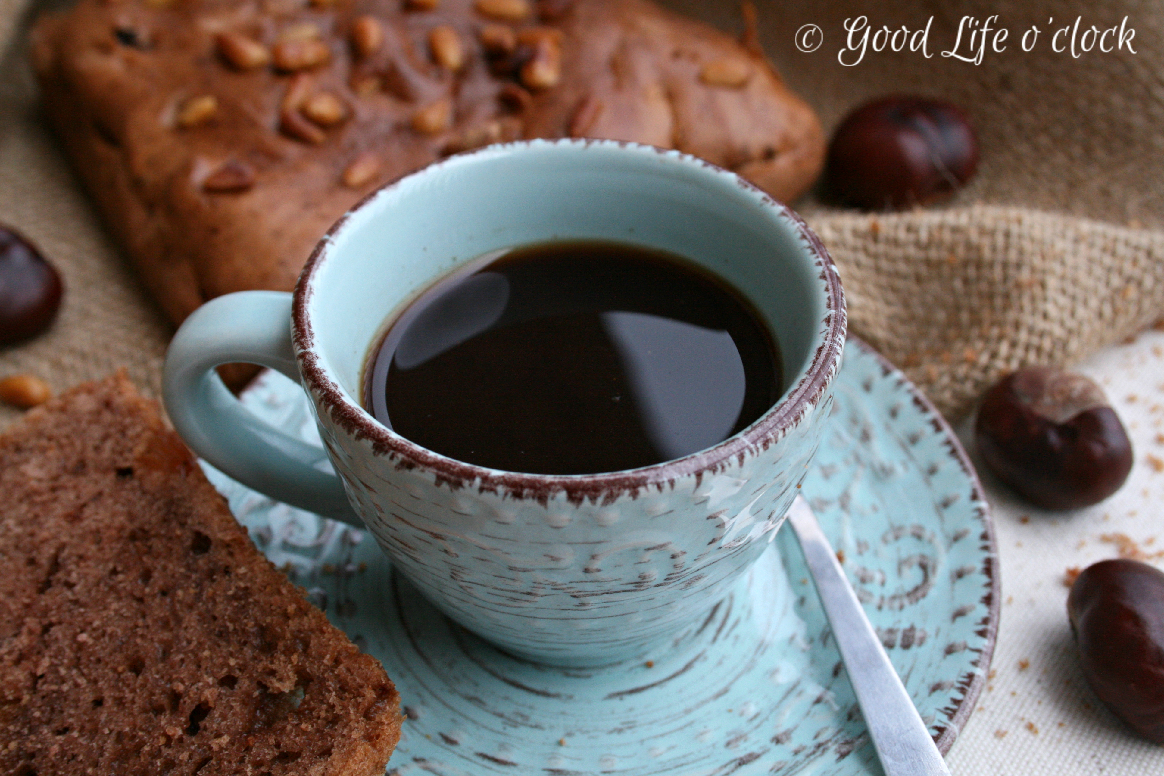 Coffee & Chestnut cake