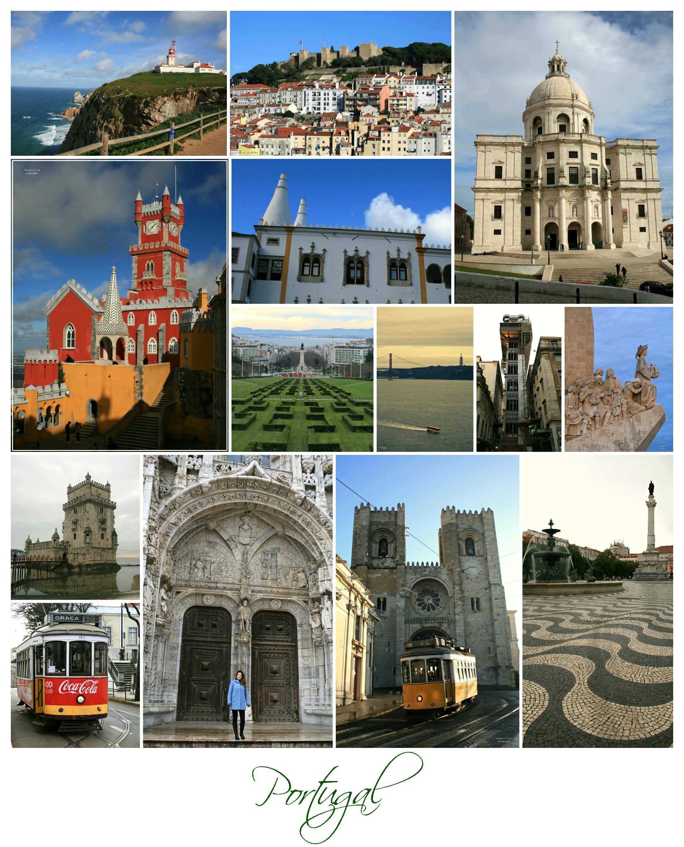 Portugal Lisbon SIntra Collage 1